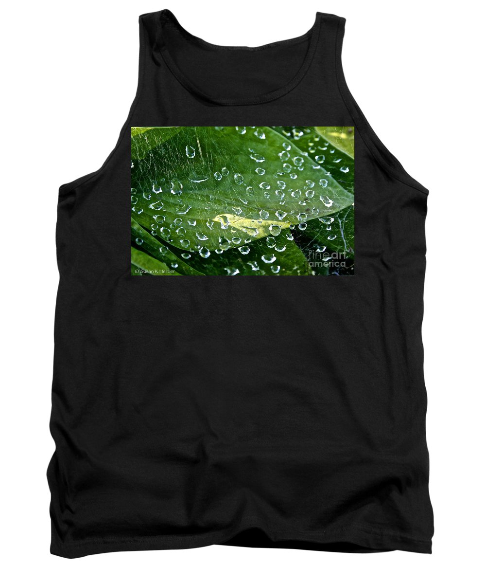 Outdoors Tank Top featuring the photograph Diamond Encased by Susan Herber