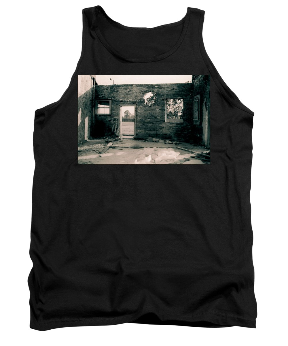 Louisiana Tank Top featuring the photograph Downtown Monroe by Doug Duffey