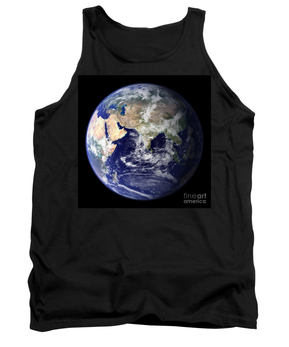 Earth From Space Tank Top featuring the photograph Earth From Space by Nasa