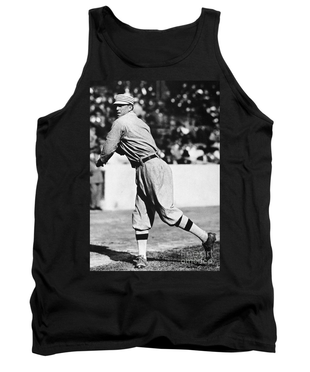 20th Century Tank Top featuring the photograph Eddie Plank (1875-1926) by Granger