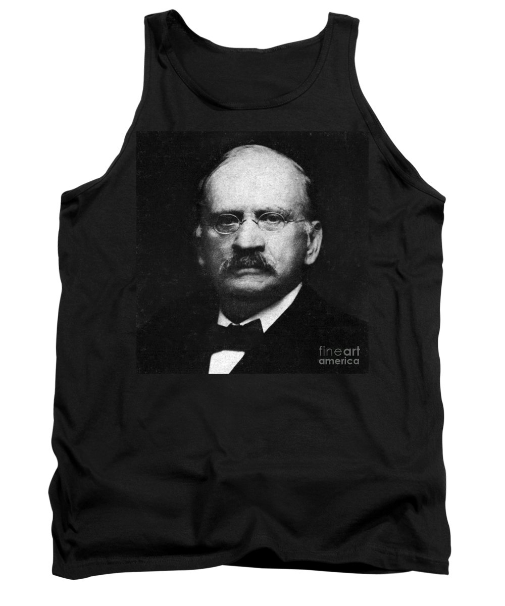 Science Tank Top featuring the photograph Edward W. Morley 1907 Nobel Prize by Science Source
