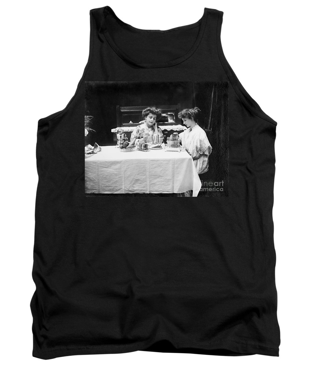 1908 Tank Top featuring the photograph Electric Cookware, 1908 by Granger