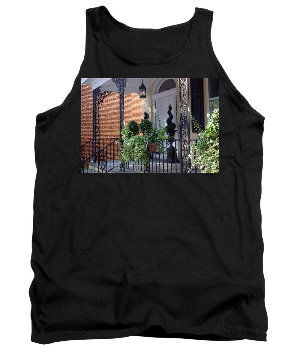 Entrance Tank Top featuring the photograph Elegant Entrance by Living Color Photography Lorraine Lynch