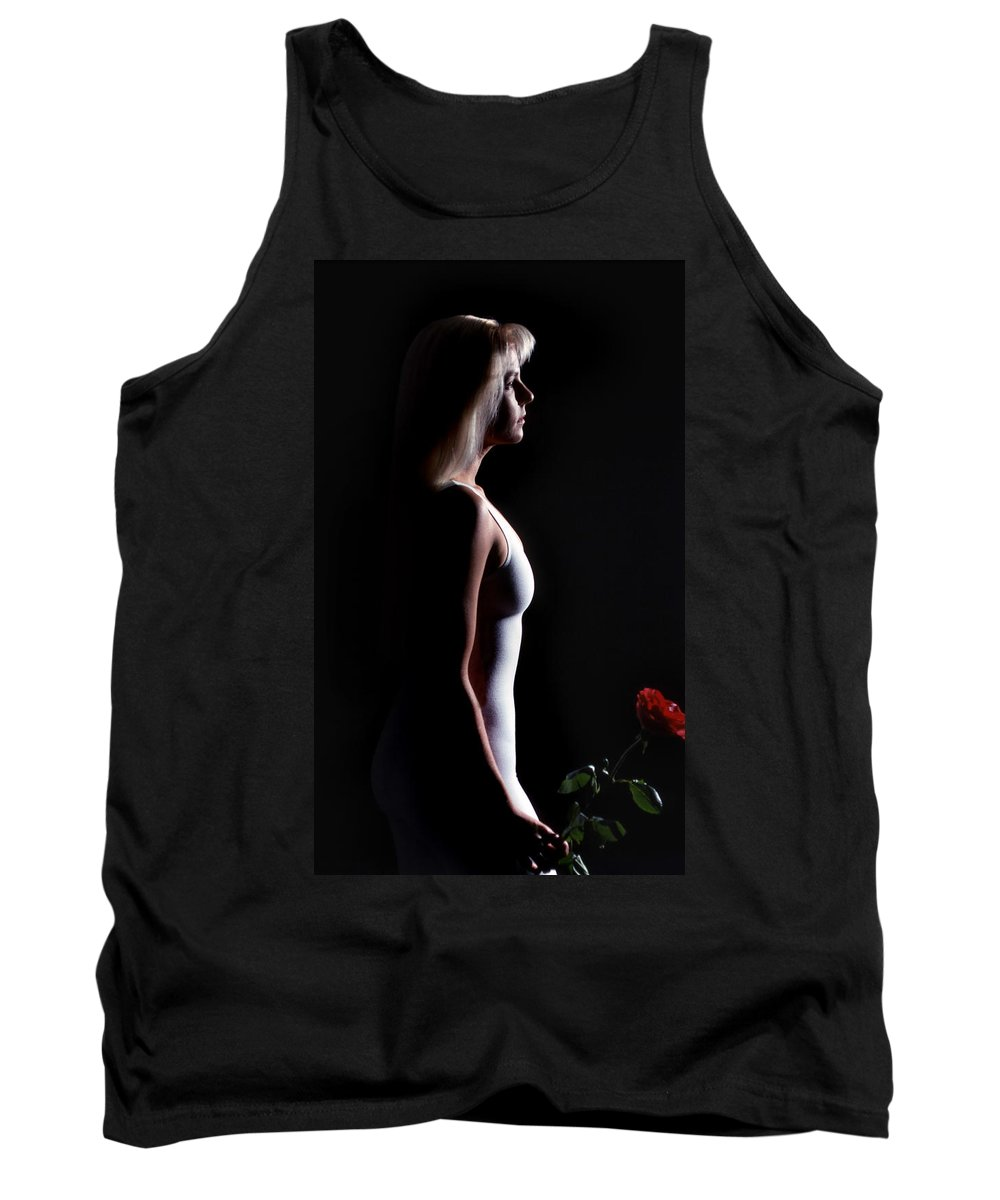 Emote Tank Top featuring the photograph Emote Number Two by Skip Willits