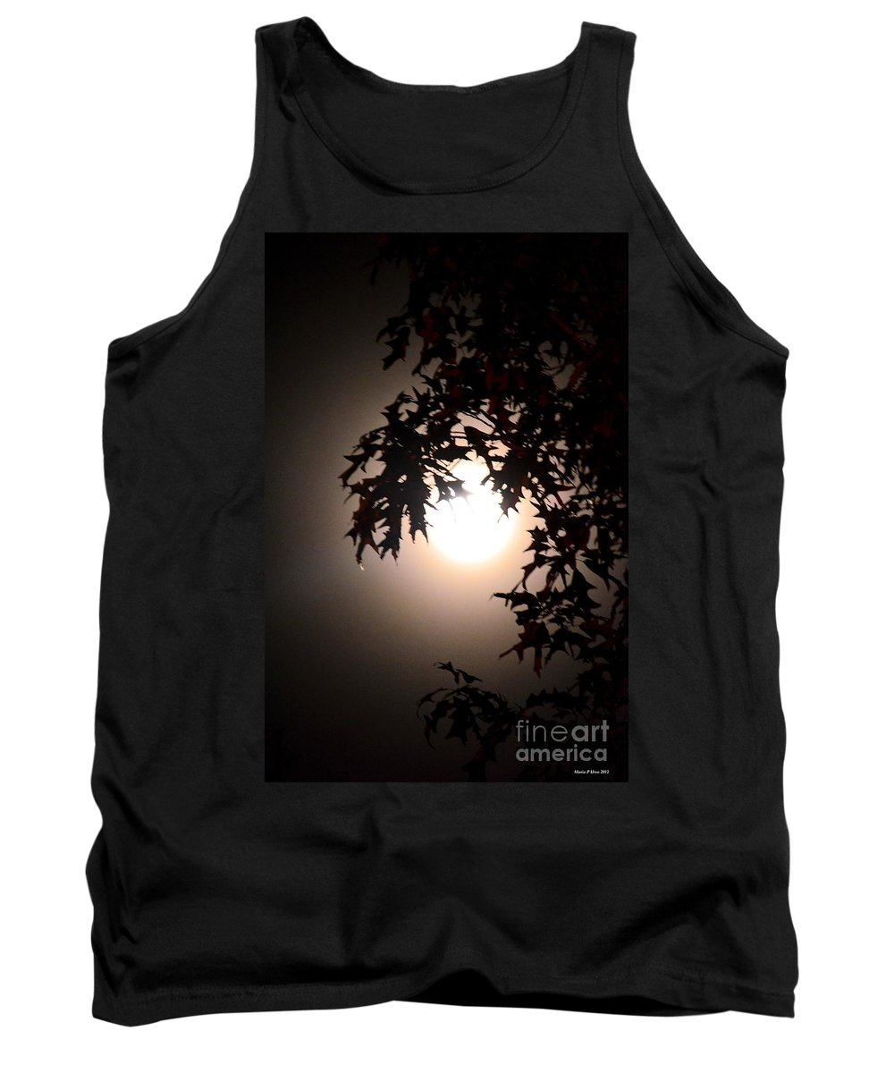 Enchanted By Moonlight Tank Top featuring the photograph Enchanted By Moonlight by Maria Urso