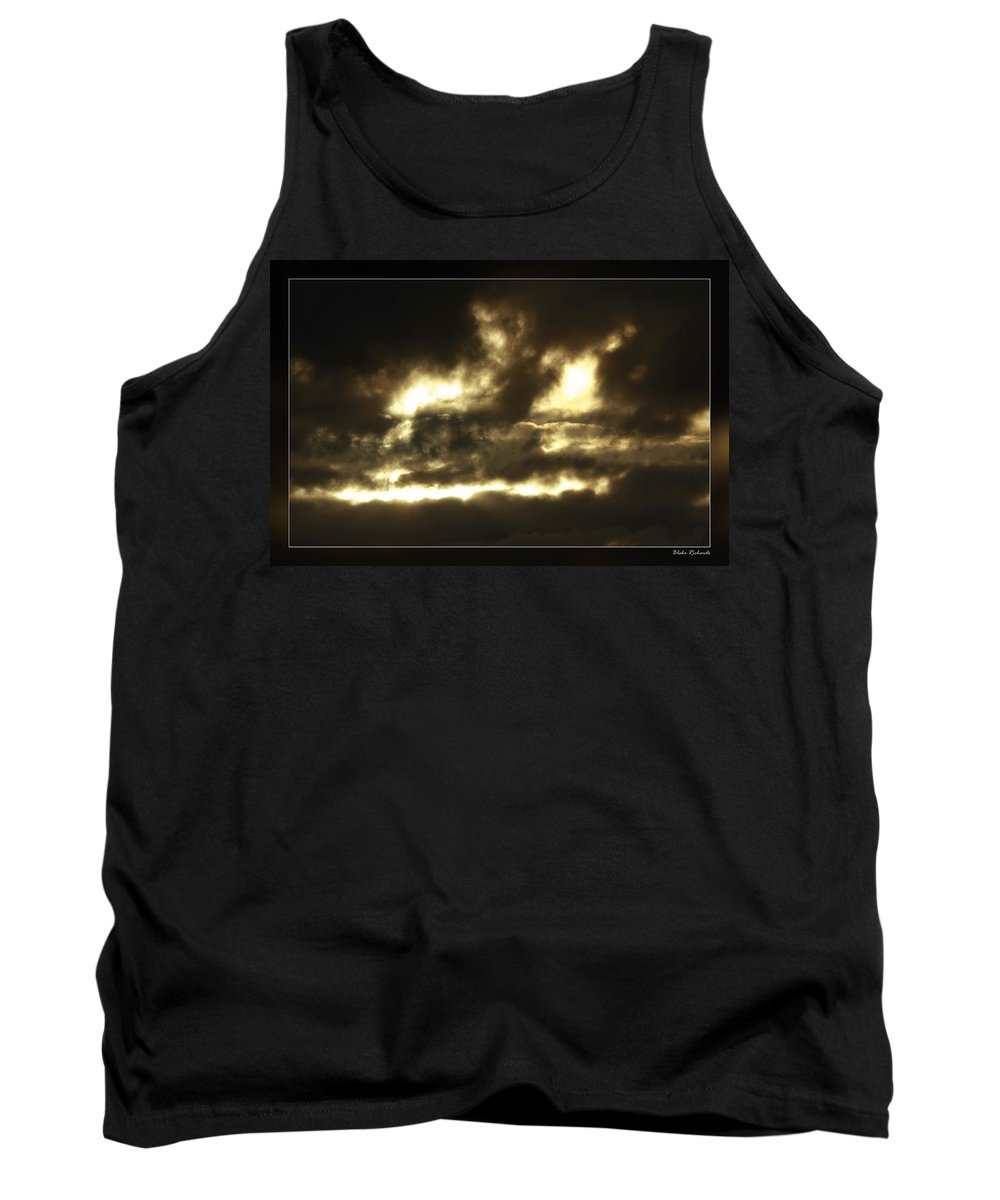 Tank Top featuring the photograph Face In Sky by Blake Richards