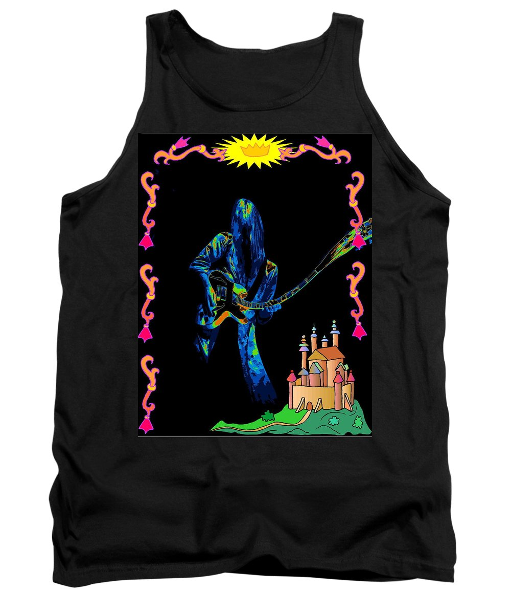 Rock Art Tank Top featuring the photograph Farewell To Kings Art by Ben Upham
