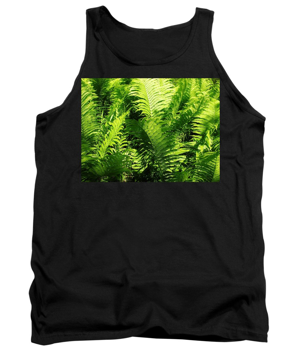 Ferns Tank Top featuring the photograph Ferns by Sherman Perry