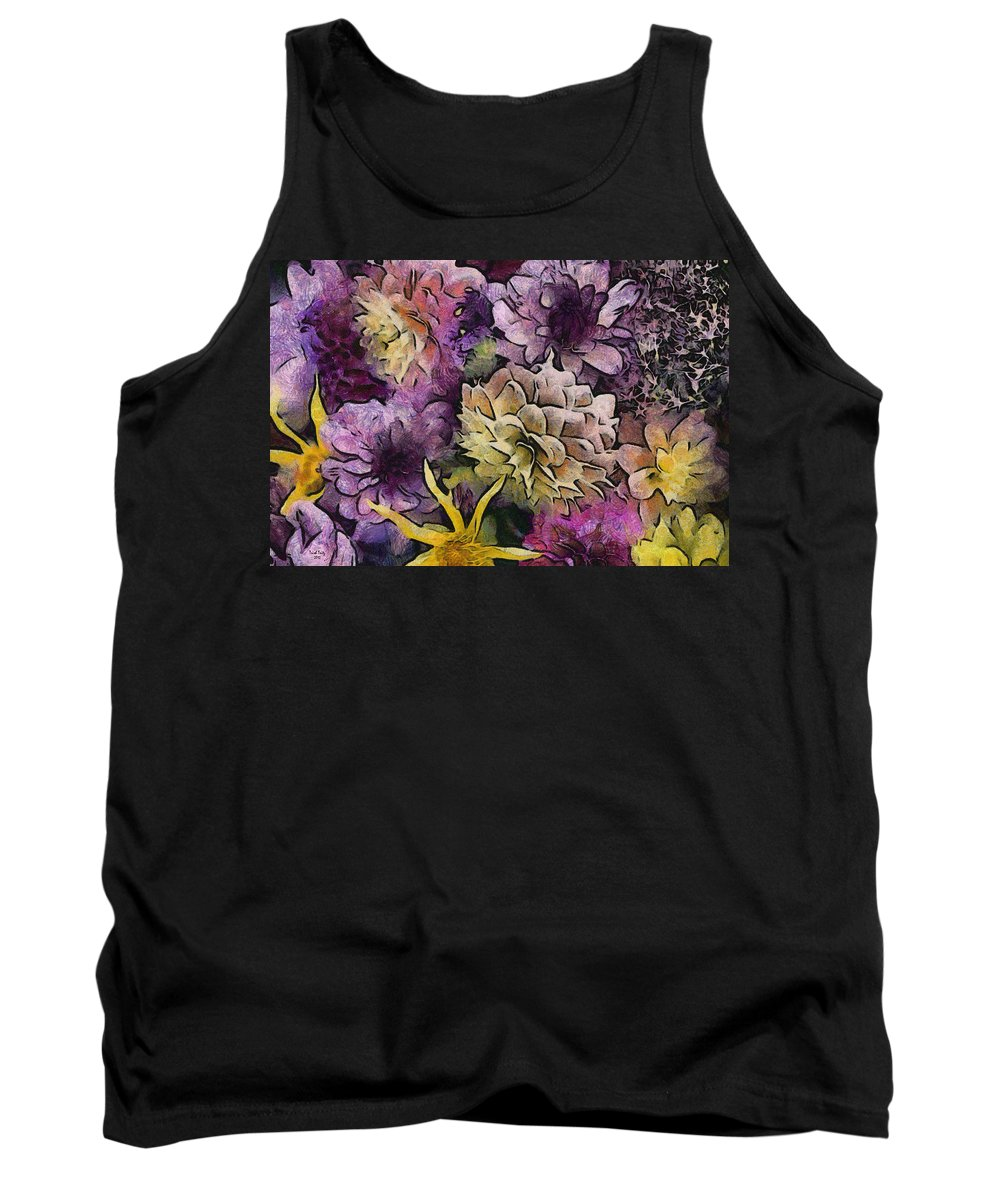 Flower Tank Top featuring the photograph Flower Power by Trish Tritz