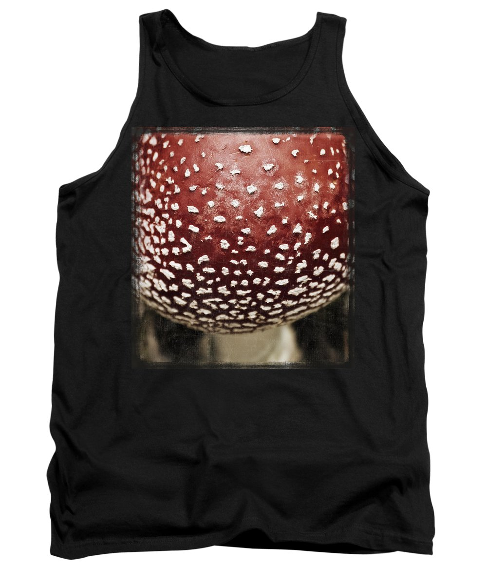 Fly Tank Top featuring the photograph Fly Agaric Mushroom by Beth Riser