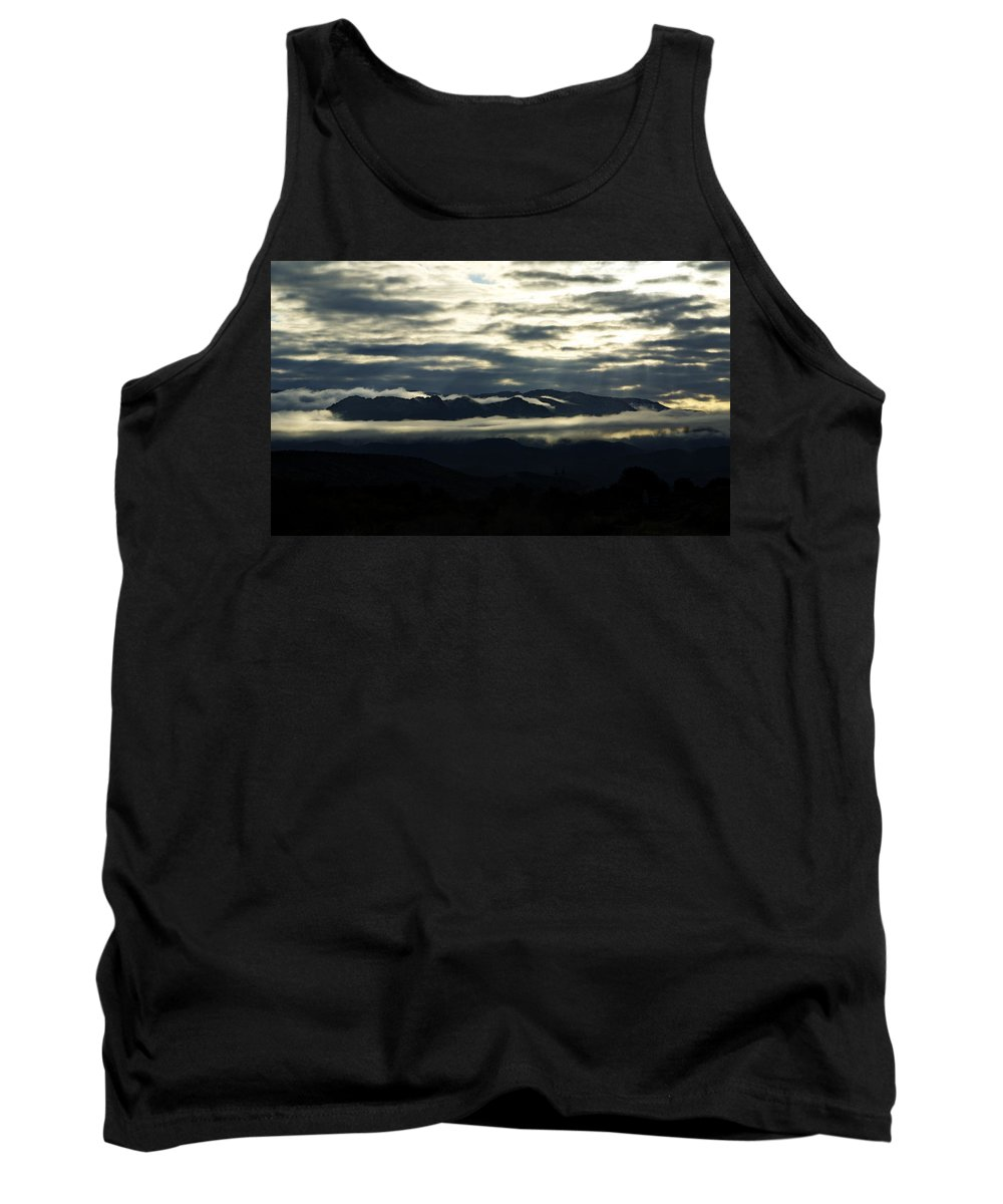 Fog Tank Top featuring the photograph Foggy Morning by Saija Lehtonen