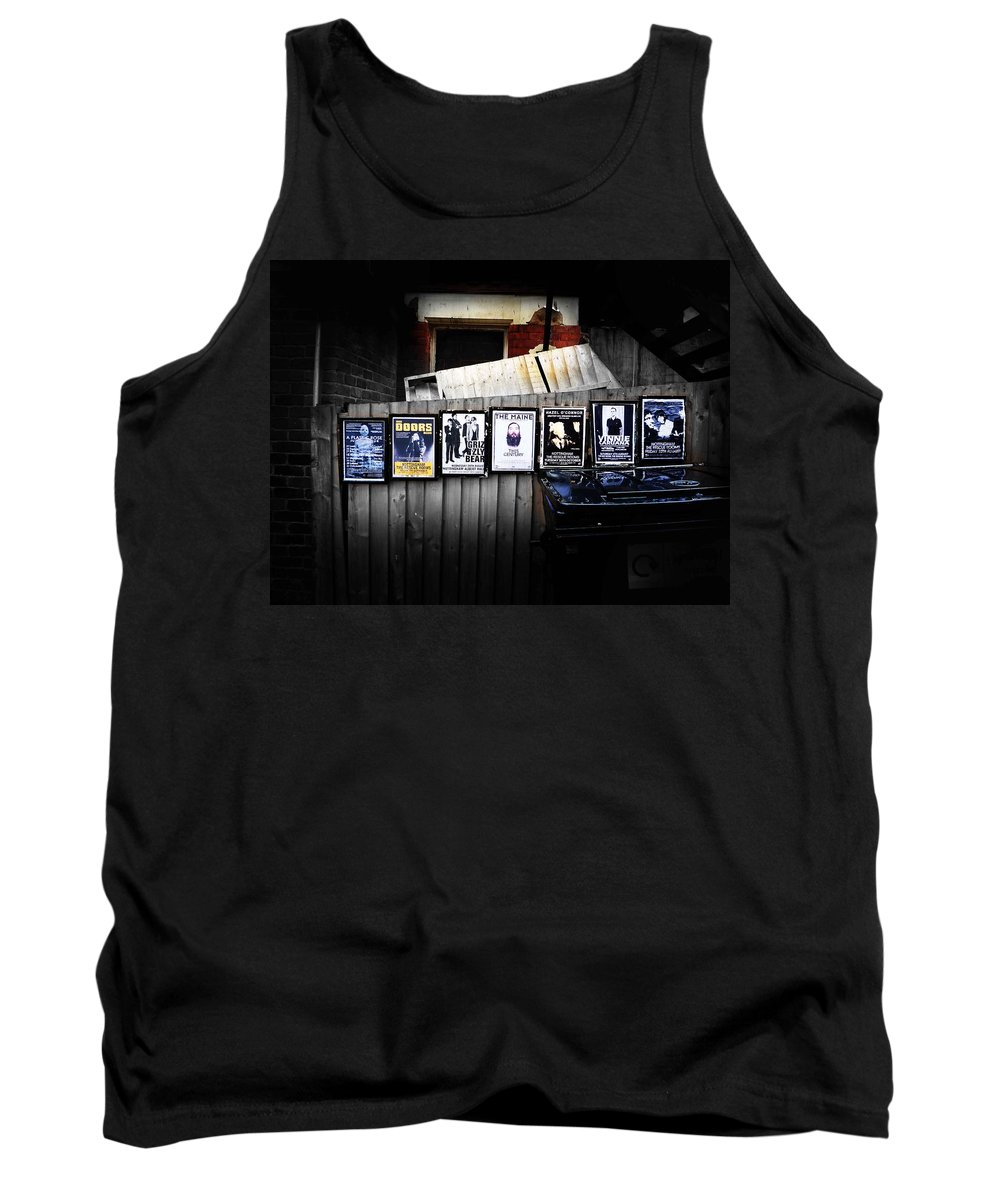 Rock Tank Top featuring the photograph For Your Pleasure by Charles Stuart