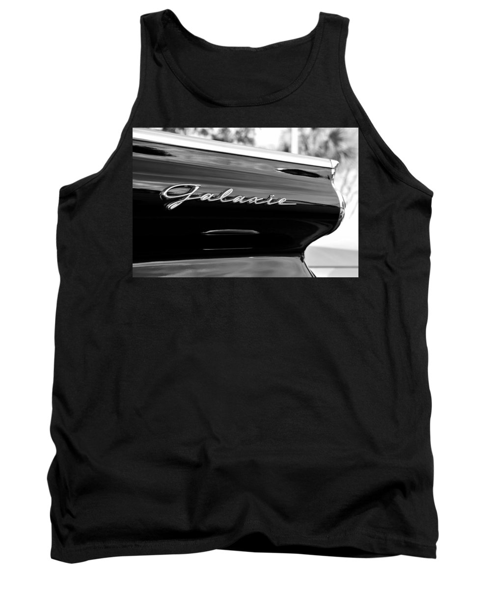 Fine Art Photography Tank Top featuring the photograph Ford Galaxie by David Lee Thompson