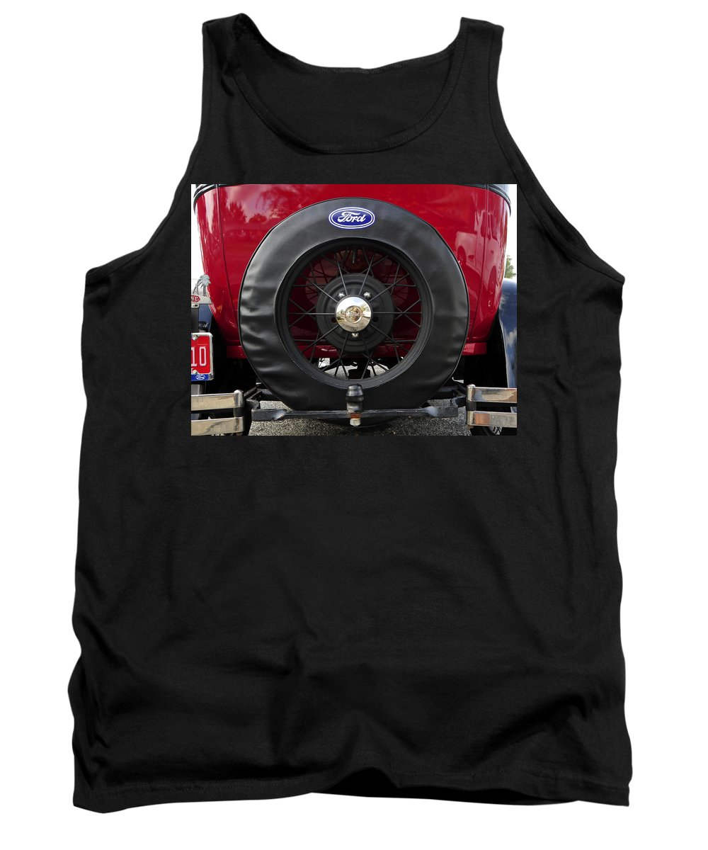 Fine Art Photography Tank Top featuring the photograph Ford T Bucket by David Lee Thompson