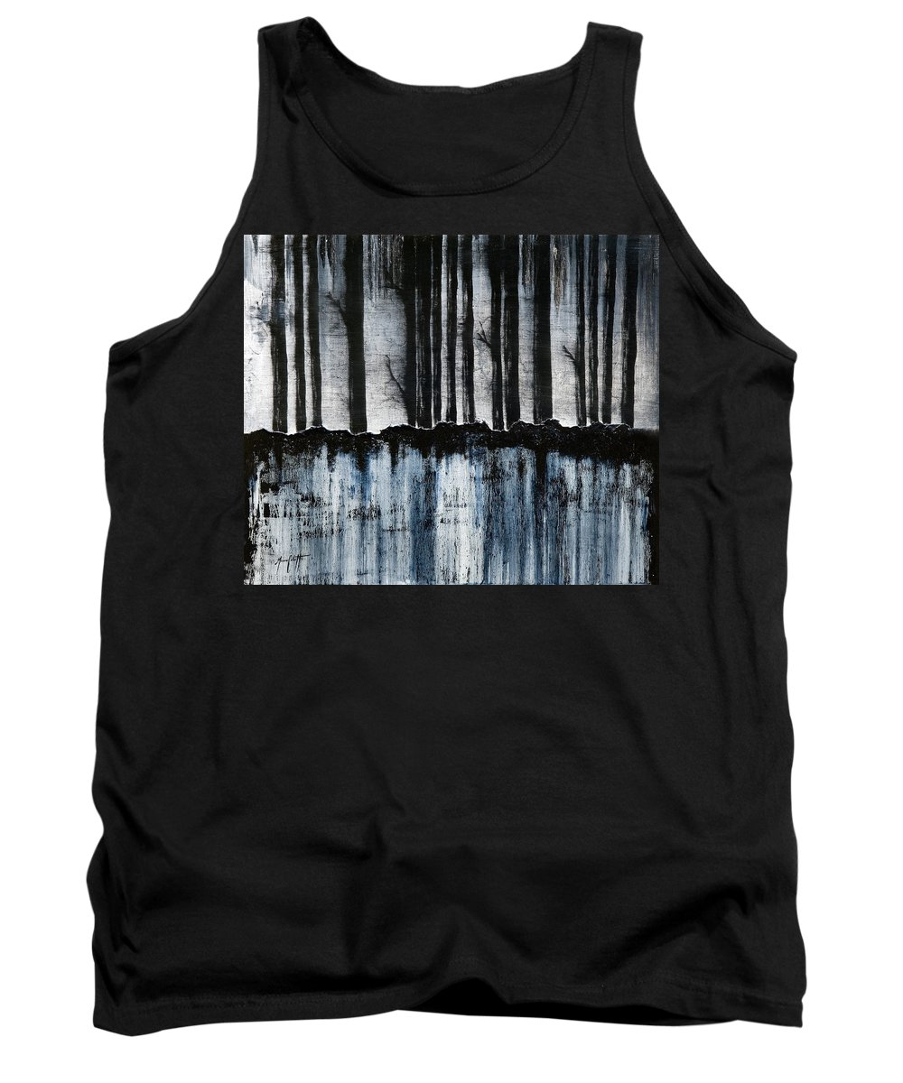 Art Tank Top featuring the painting Forest 2 by Mauro Celotti