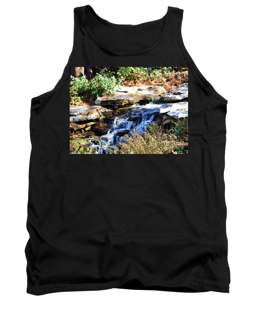 Stream Tank Top featuring the photograph Free To Stream by Debbi Granruth