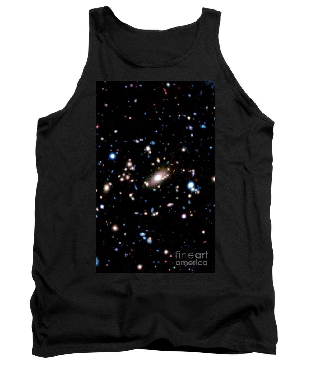 Galaxy Cluster Tank Top featuring the photograph Galaxy Cluster by National Astronomical Observatory of Japan