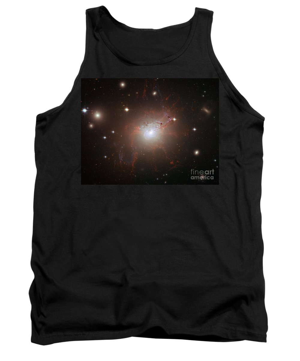 Hubble Space Telescope Tank Top featuring the photograph Galaxy Ngc 1275 by Nasa