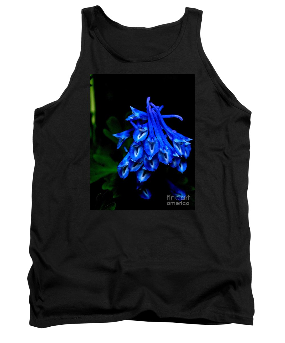 Corydalis Tank Top featuring the photograph Garden Jewel by Tanya Searcy