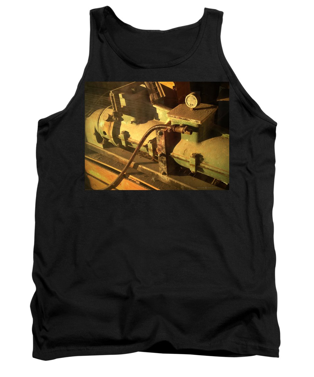 Guage Tank Top featuring the photograph Gauge by Tim Nyberg