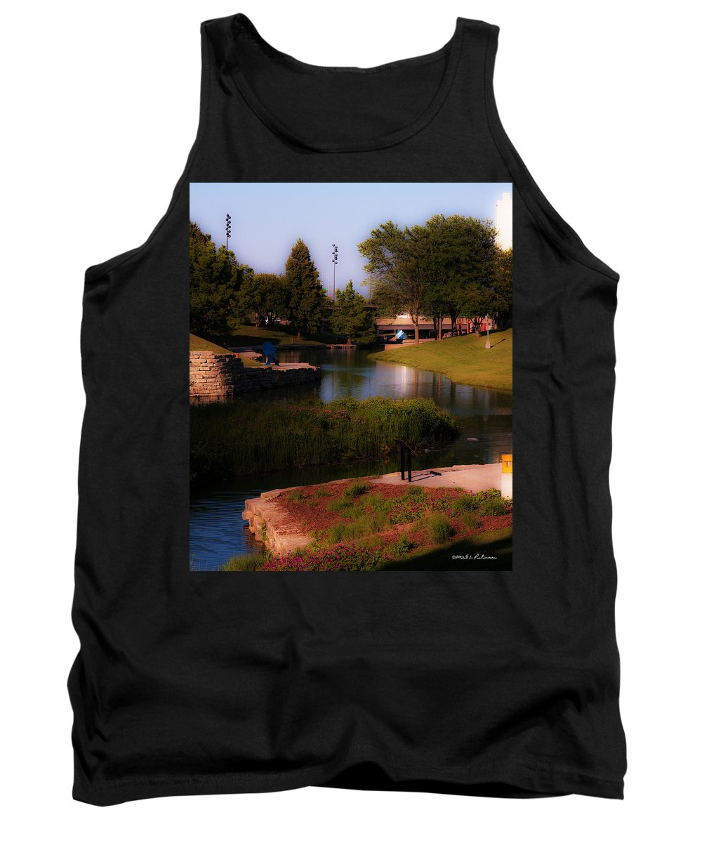 Gene Leahy Mall Tank Top featuring the photograph Gene Leahy Mall In Full Glory by Edward Peterson