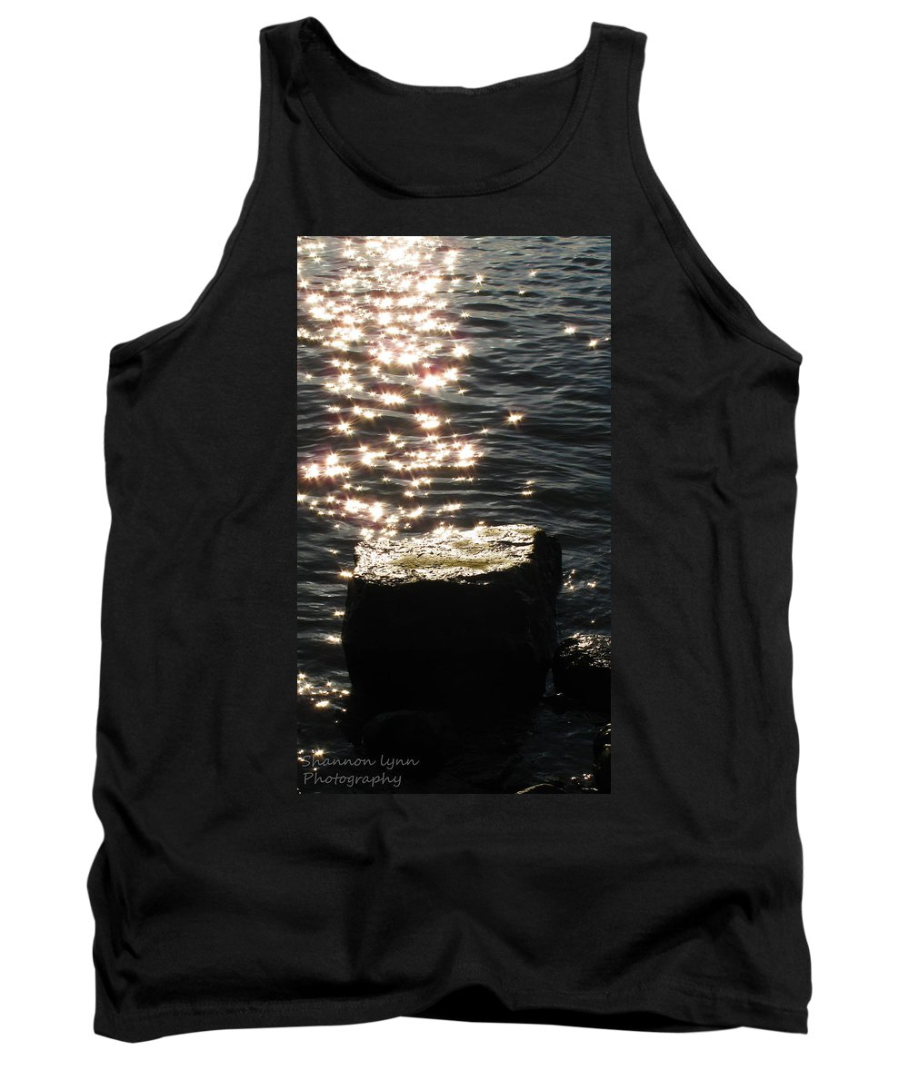Water Tank Top featuring the photograph Glittering Sunlight by Shannon Nolting