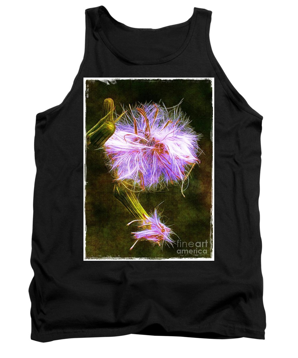 Seed Tank Top featuring the photograph Going To Seed by Judi Bagwell