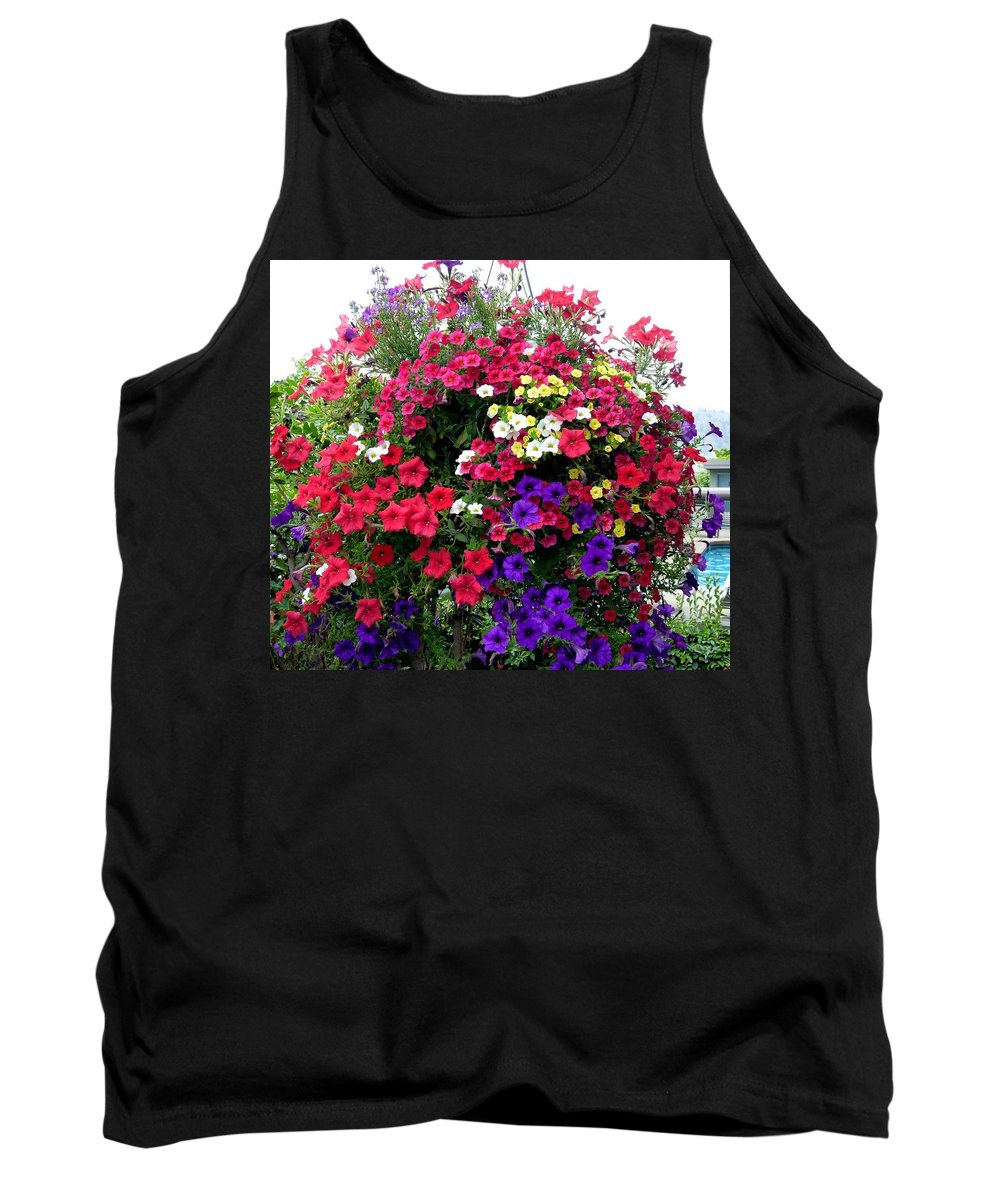 Hanging Basket Tank Top featuring the photograph Hanging Basket by Will Borden