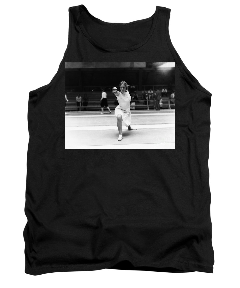 1932 Tank Top featuring the photograph Helene Mayer (1910-1953) by Granger