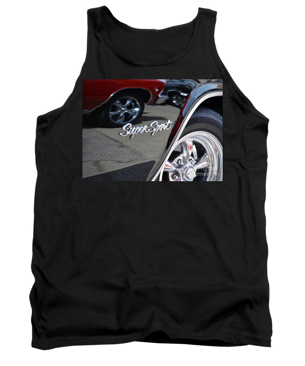 Color Photography Tank Top featuring the photograph Impala Ss by Sue Stefanowicz