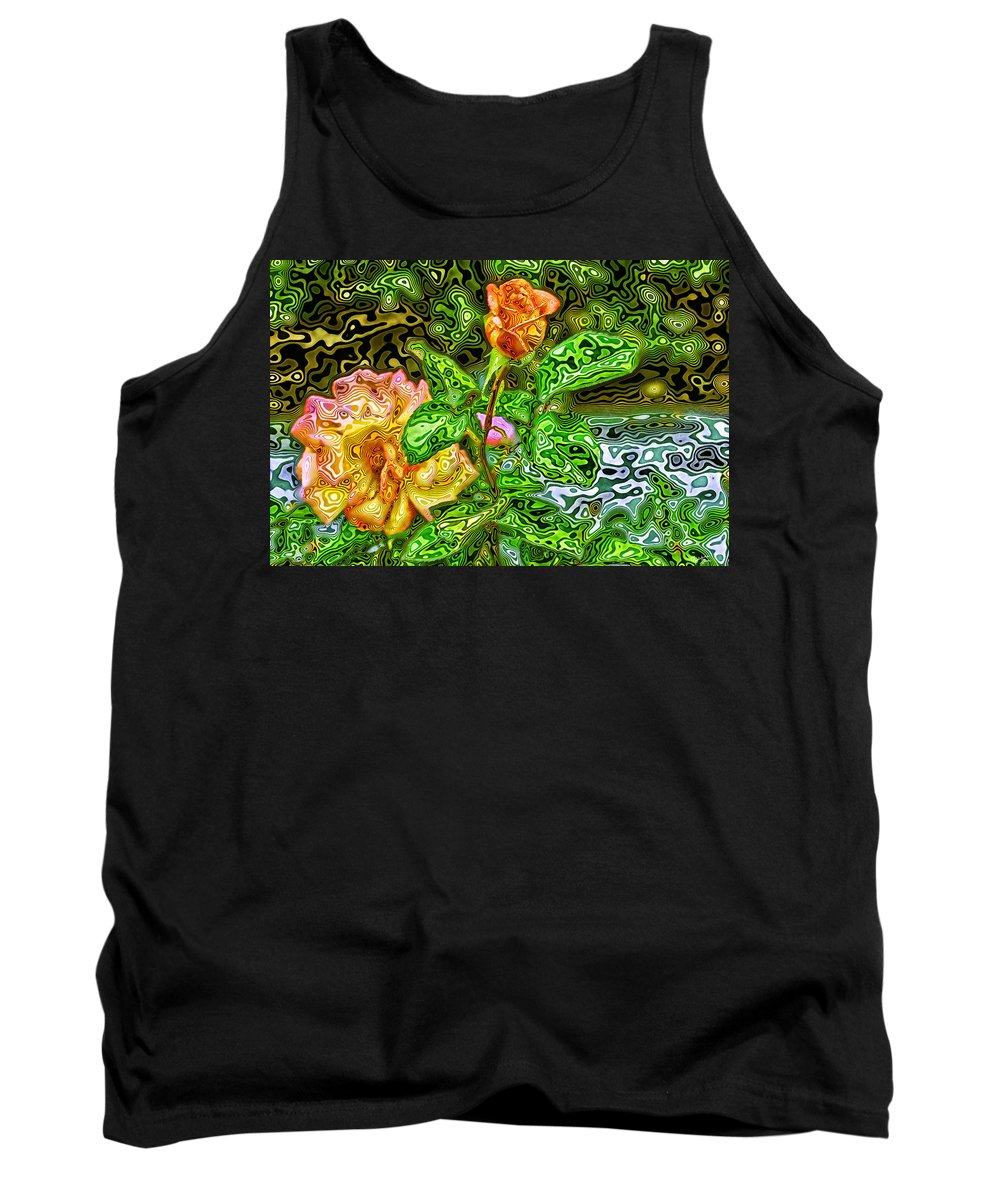 Flowers Tank Top featuring the photograph In The Garden Of Dreams by Madeline Ellis