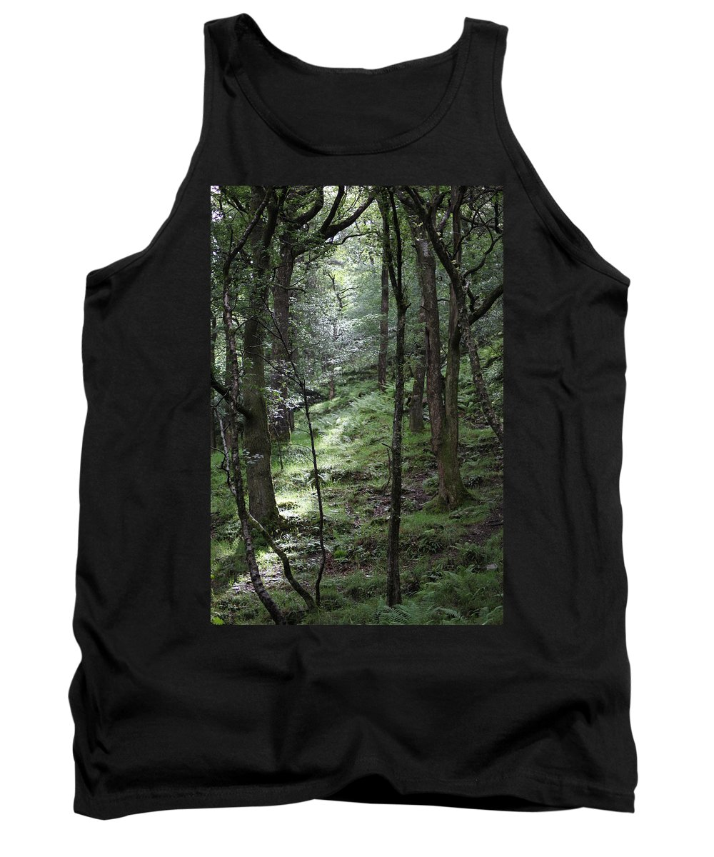 Woods Tank Top featuring the photograph Ireland 0002 by Carol Ann Thomas