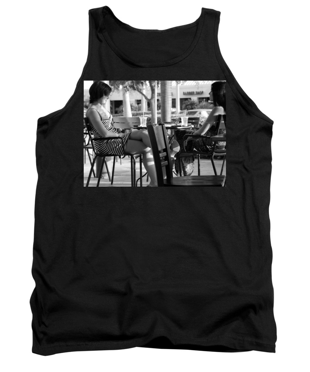 Women Tank Top featuring the photograph Ladies In Dresses by Rob Hans