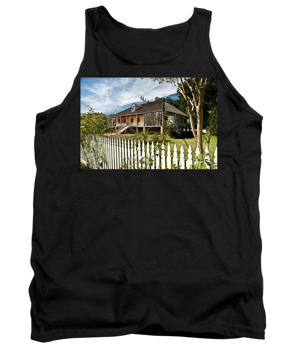 Register Tank Top featuring the photograph Laura Creole Plantation by Jim Chamberlain