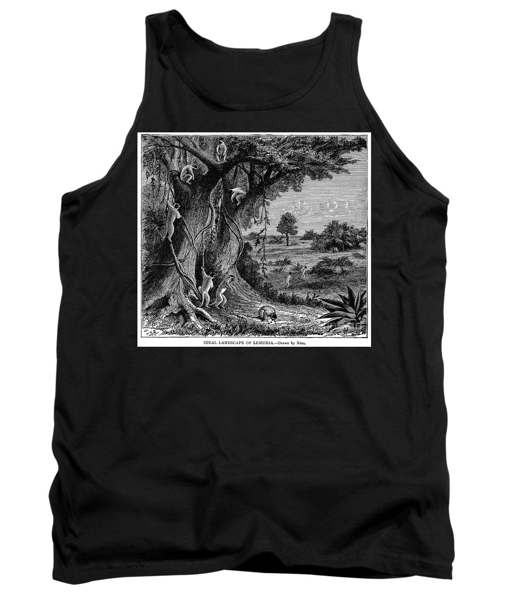 19th Century Tank Top featuring the photograph Lemuria by Granger
