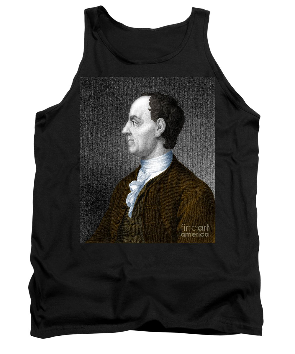 Man Tank Top featuring the photograph Leonhard Euler, Swiss Mathematician by Photo Researchers