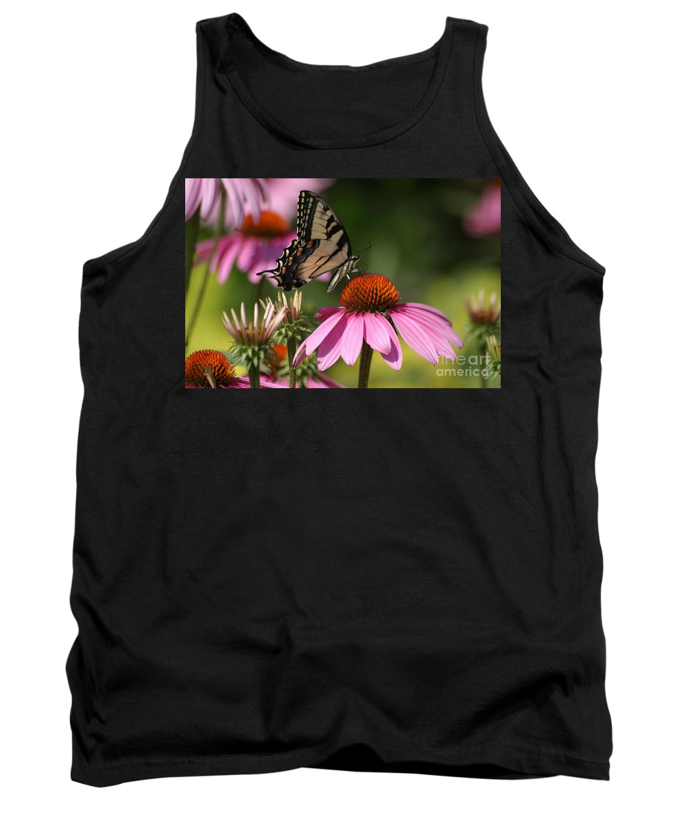 Butterfly Tank Top featuring the photograph Living Color by Living Color Photography Lorraine Lynch