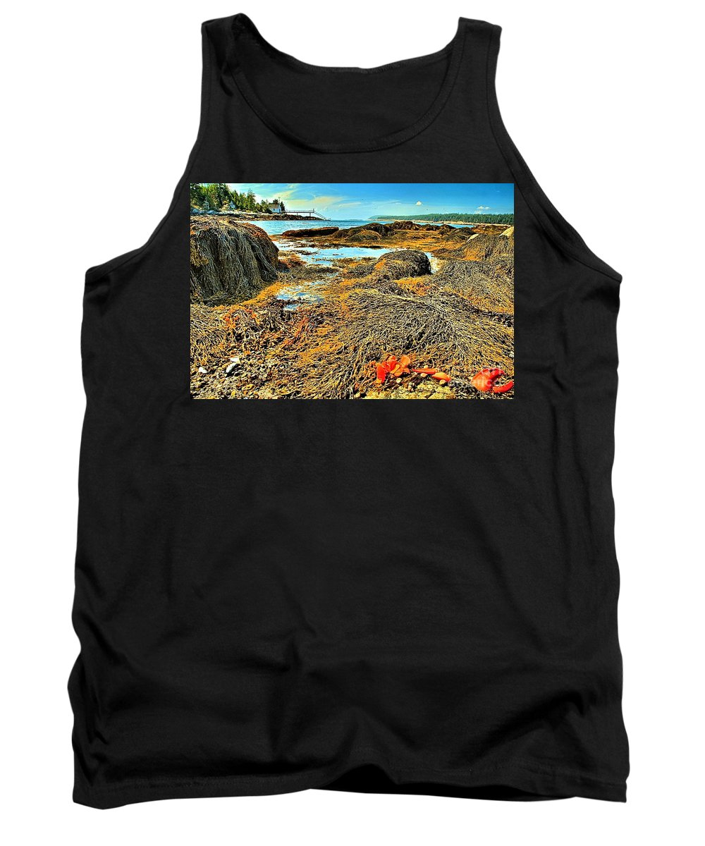 Lobster Tank Top featuring the photograph Lobster Fest by Adam Jewell