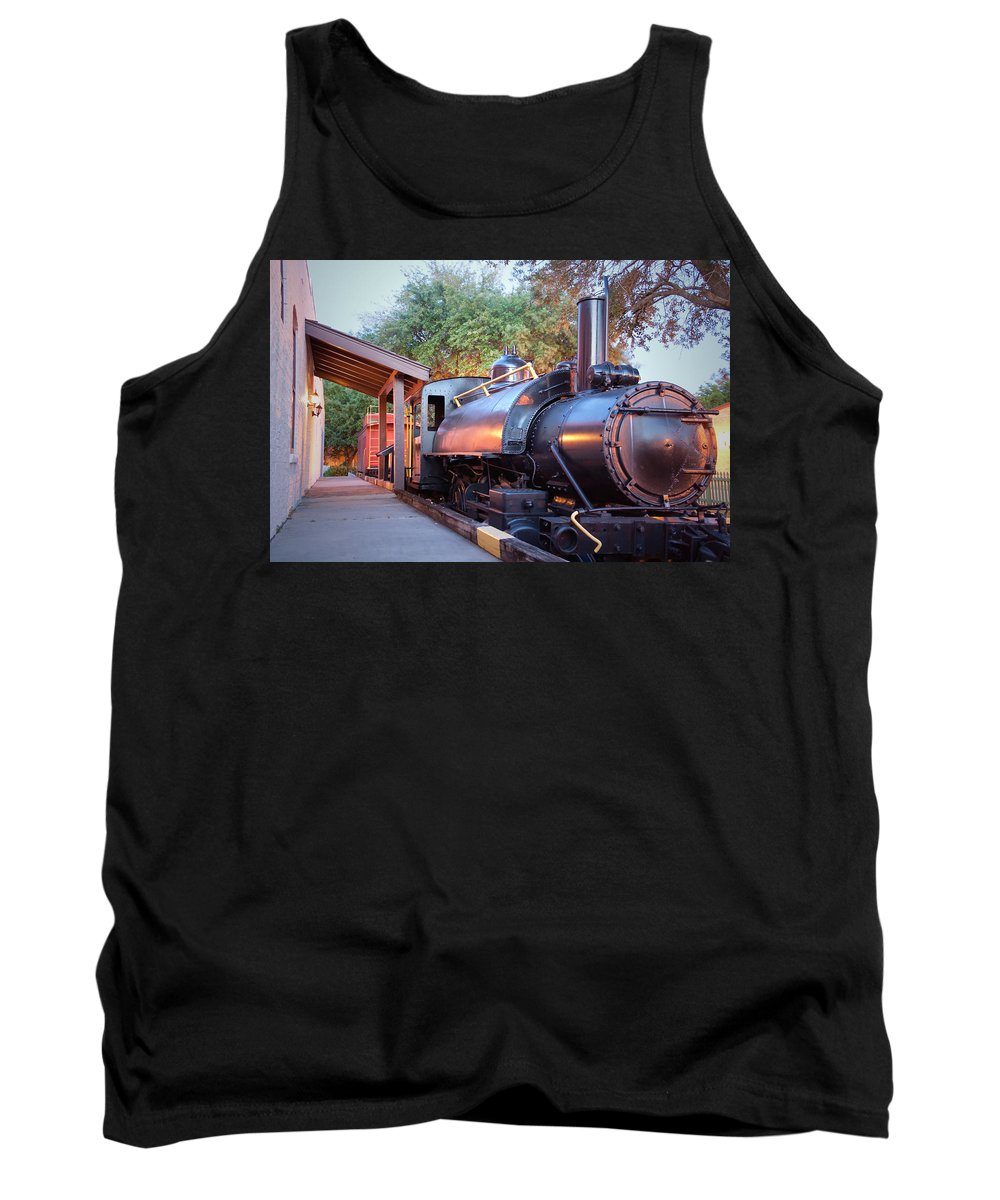 Locomotive Tank Top featuring the photograph Locomotive by David Troxel