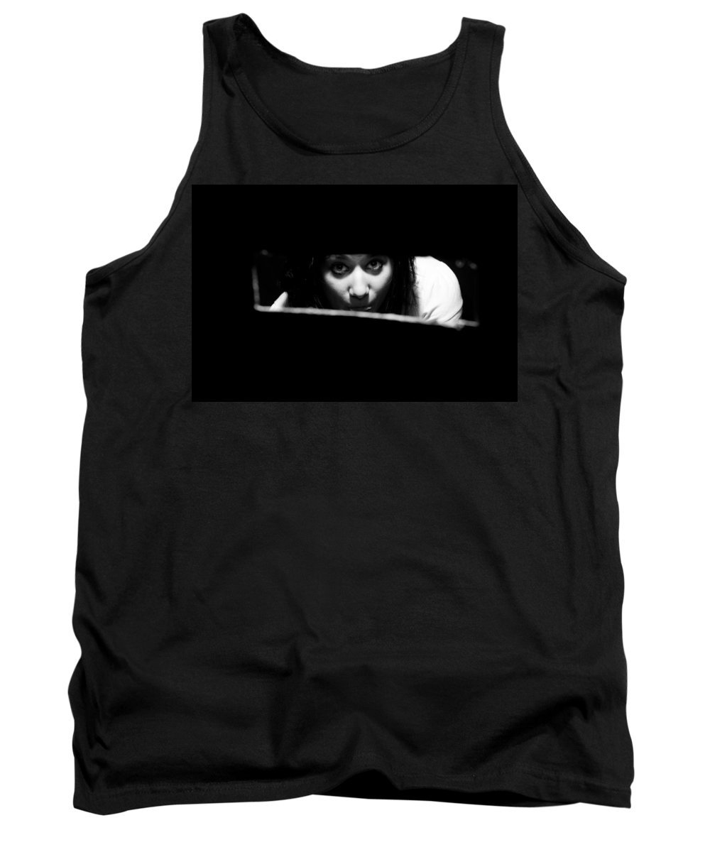 Looking Tank Top featuring the photograph Looking Hole by Scott Sawyer