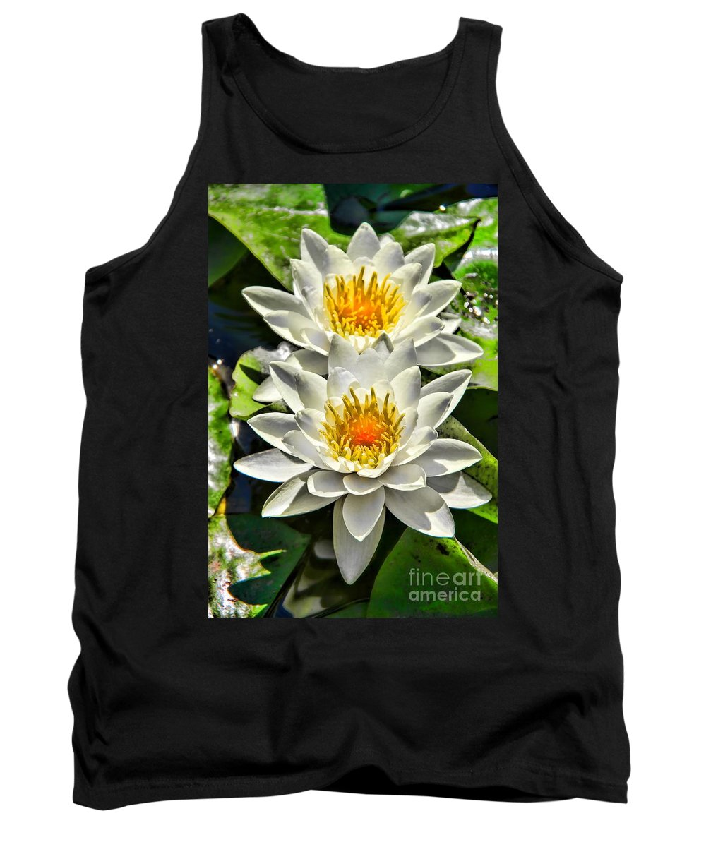 Lovely Couple Tank Top featuring the photograph Lovely Couple by Mariola Bitner
