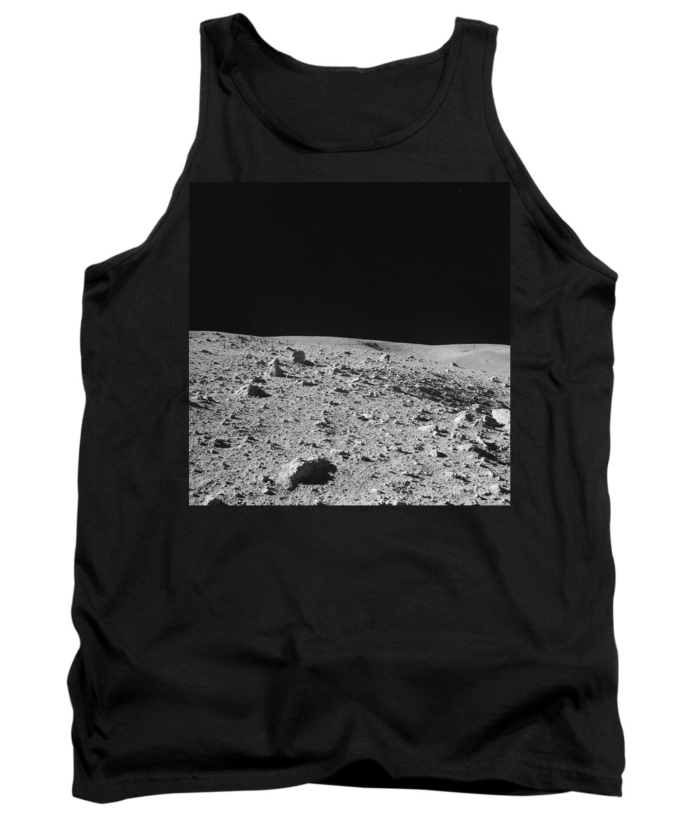 Apollo Tank Top featuring the photograph Lunar Surface by Nasa