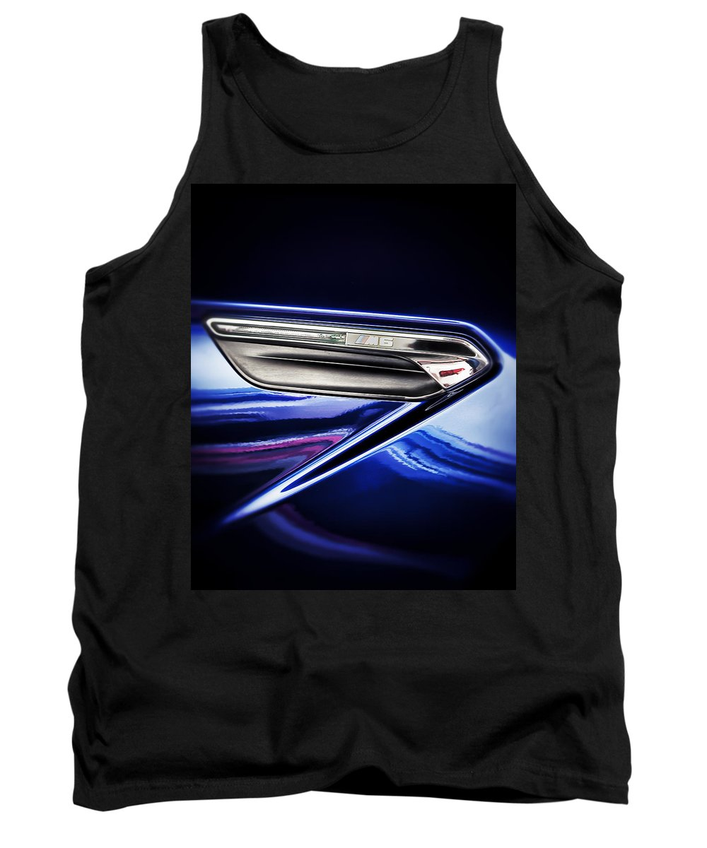 Bmw Tank Top featuring the photograph M6 Badge by Scott Wyatt