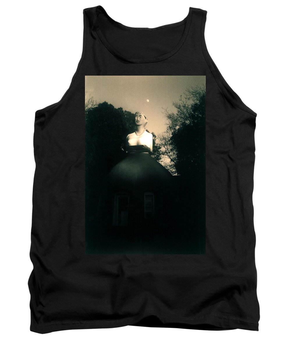 Louisiana Tank Top featuring the photograph Mammy- Full Moon by Doug Duffey
