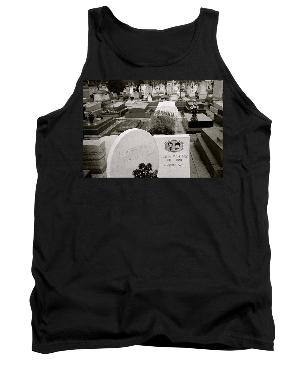 Man Ray Tank Top featuring the photograph Man Ray by Shaun Higson
