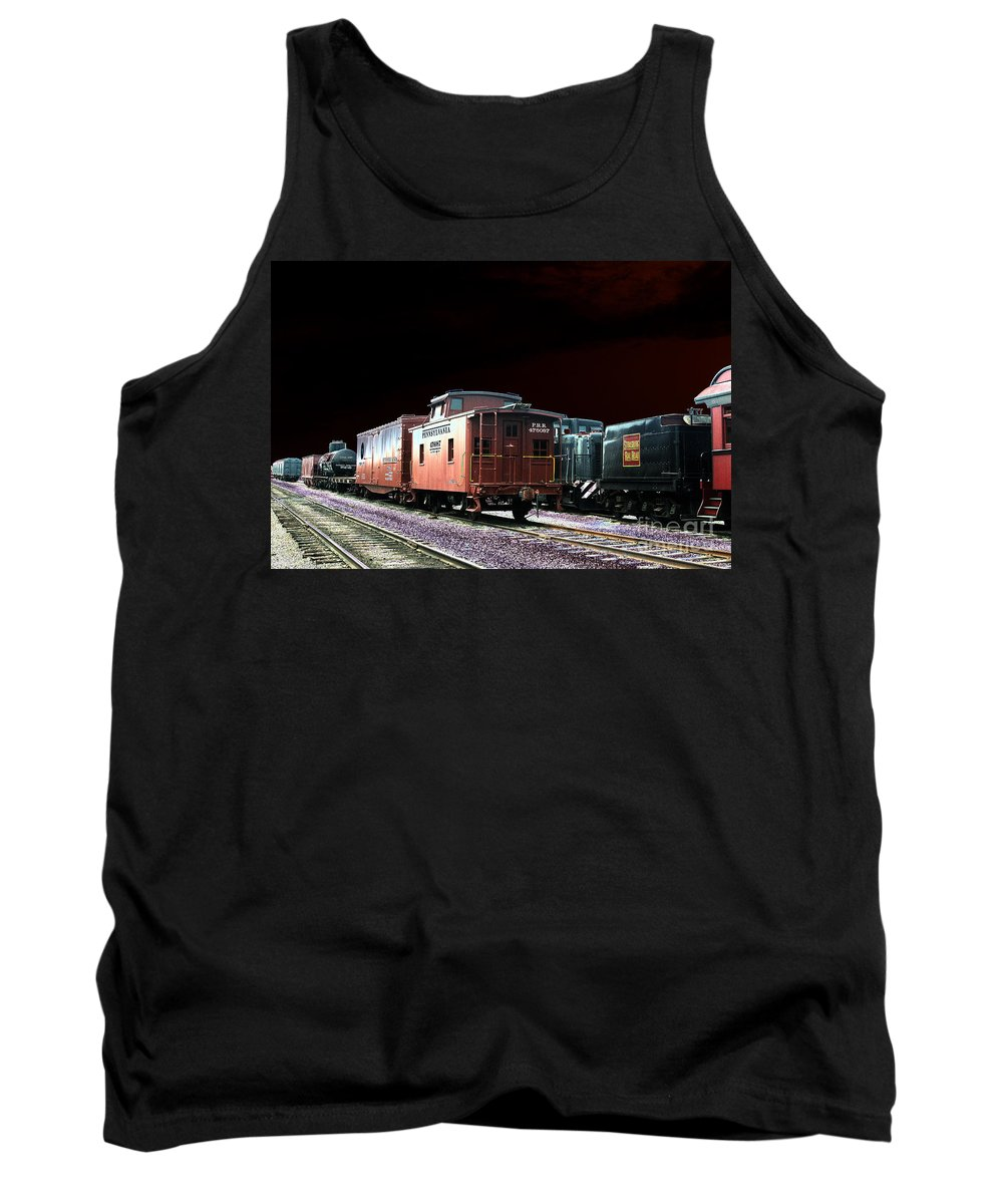 Railroad Tank Top featuring the photograph Midnight Rest by Paul W Faust - Impressions of Light