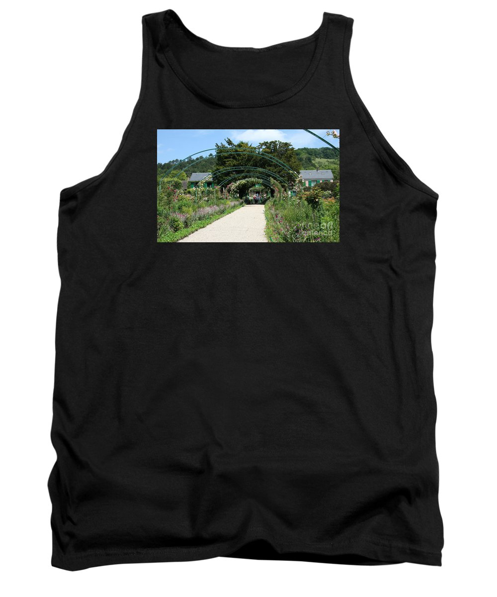 Monet Tank Top featuring the photograph Monets Home And Garden by Christiane Schulze Art And Photography