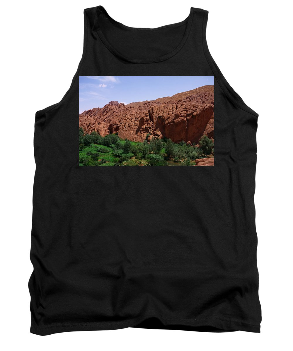 Morocco Tank Top featuring the photograph Monkey Fingers Mountain by Ivan Slosar