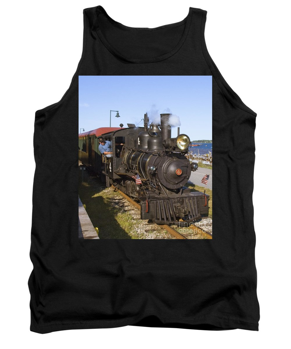 Monson Tank Top featuring the photograph Monson 4 Forney by Tim Mulina