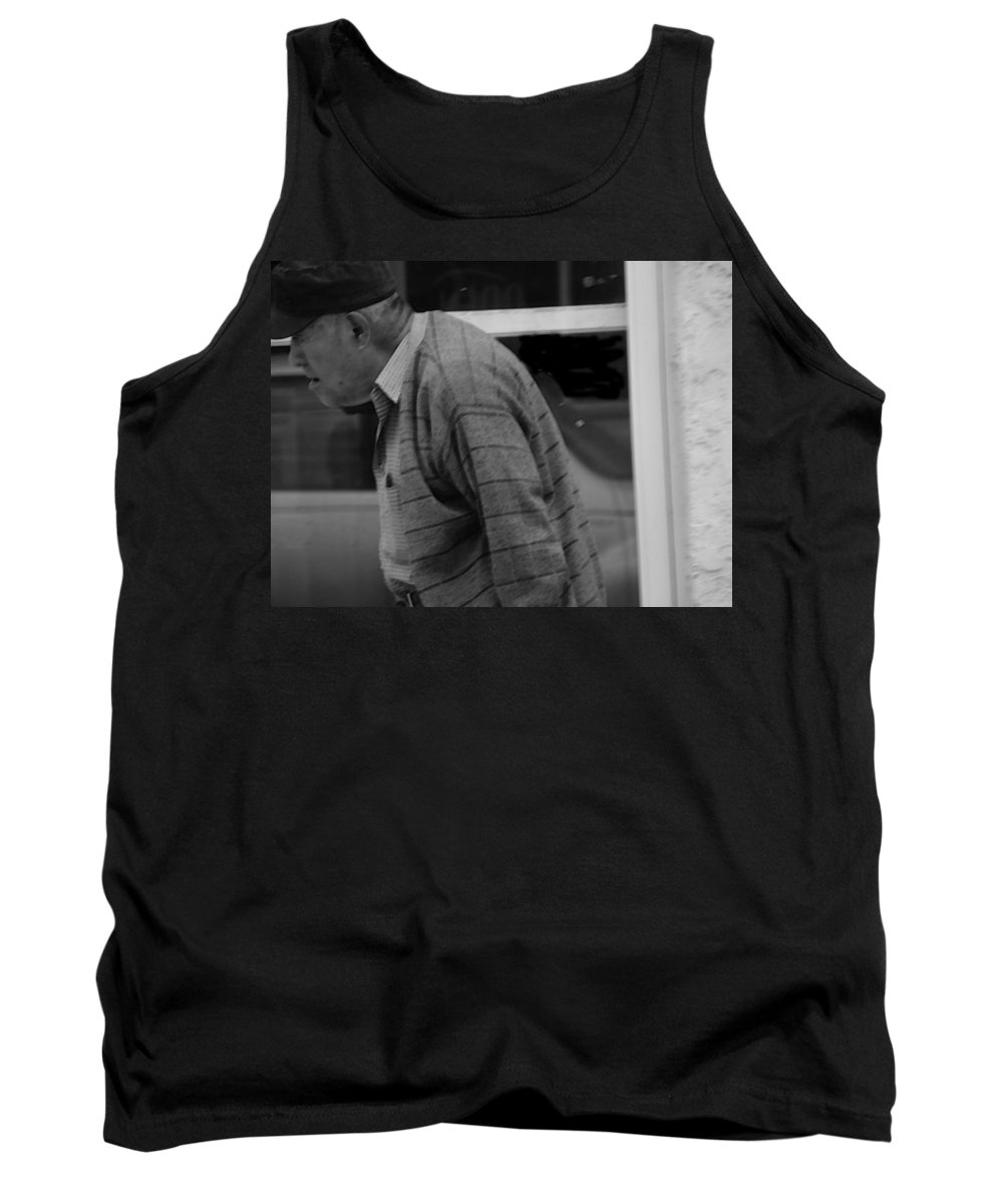Expressive Tank Top featuring the photograph Moving Right Along 2 by Lenore Senior